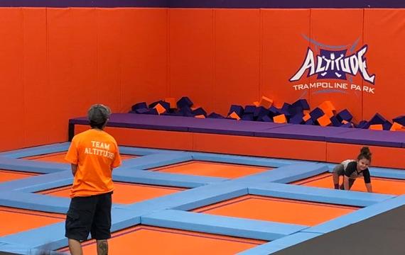 Altitude Trampoline Park - Kid's Court